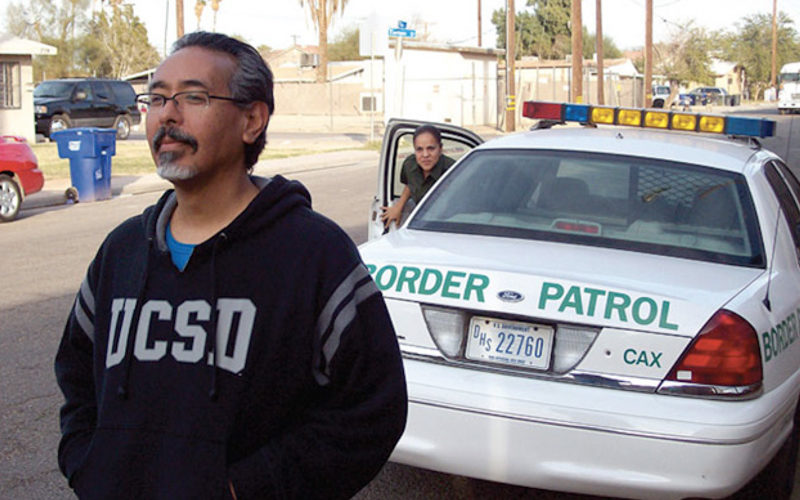 Ricardo Dominguez Talks about the Transborder Immigrant Tool with Leila Nadir